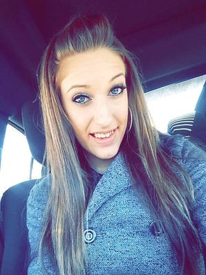 Arissa Clymer, 21, of Chanceford Township, is seen in this submitted photo. At 14, Clymer had surgery for scoliosis, or a curvature of the spine. She was prescribed Percocet for the pain, and later struggled with addiction. She died of a drug overdose on Aug. 16, 2015.