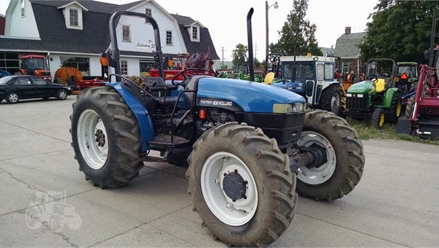 Anyone with information on this tractor, which was reported stolen in Marlette Township, is asked to contact Deputy Ken Crase at (810) 648-2000, ext. 636, or theDetective Bureau at 810-648-8360.