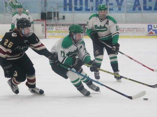 Cody Jablonski of the Brick Hockey Club