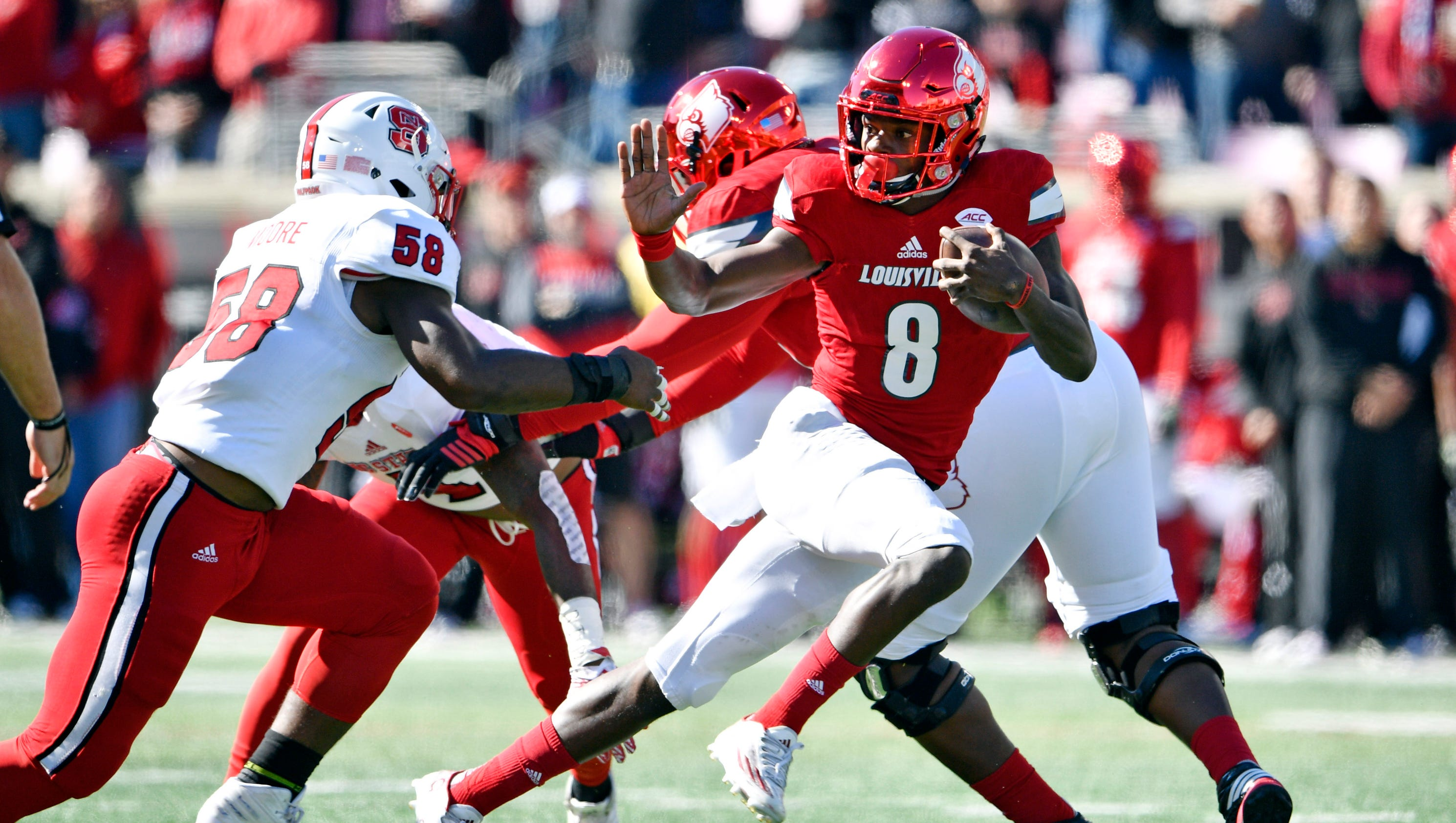 Heisman front-runner Lamar Jackson now has more TDs than most FBS teams