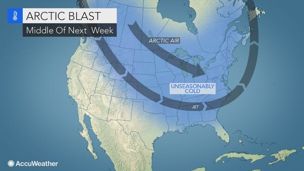 Chilly conditions are expected in the Lower Hudson Valley.