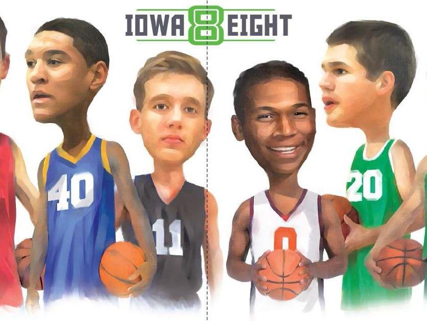 Iowa 8 baskettball