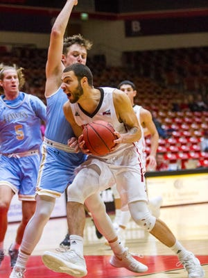 College basketball: San Diego Christian at Southern Utah, Saturday, December 2, 2017. Final score: SUU 87, SDCC 68.