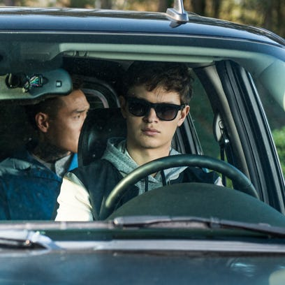 On the set of 'Baby Driver': 'It's like Mr. Toad's Wild Ride'