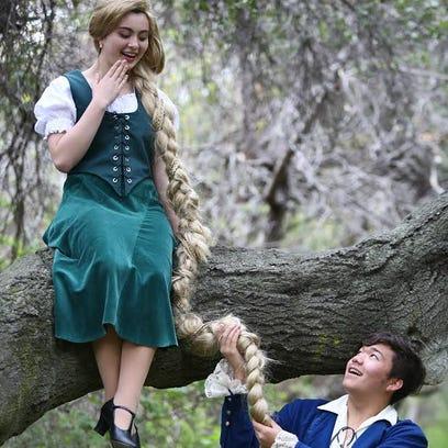 "Celina Kott and Kobe Burton star in ""Into the Woods"