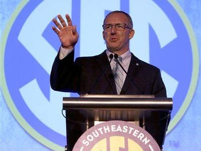 SEC commissioner Greg Sankey announced a seven-person panel to review issues surrounding student-athlete conduct on Thursday.