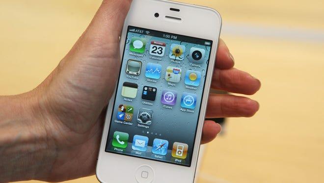 Get your hands of my iPhone, dad!