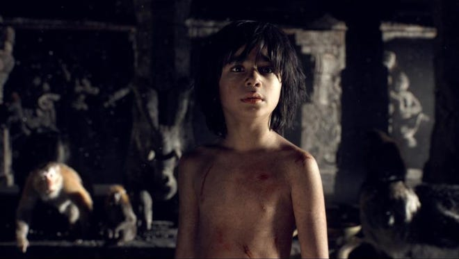 "Neel Sethi in ""The Jungle Book."" The movie opens Thursday at Regal West Manchester Stadium 13, Frank Theatres Stadium 13 and R/C Hanover Movies."