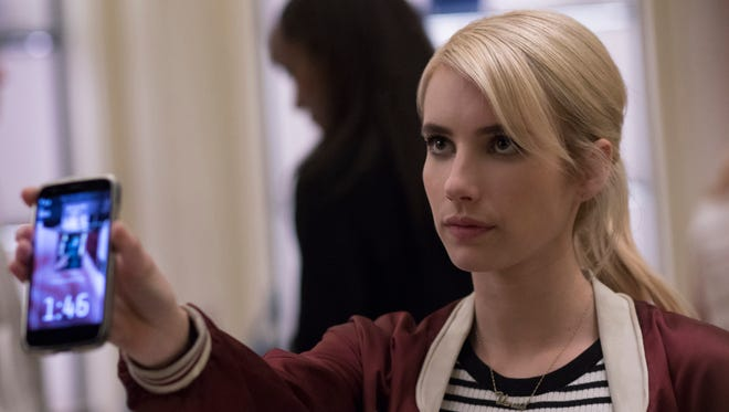 Emma Roberts stars as a high school student who gets involved with a popular online-reality game in 'Nerve.'