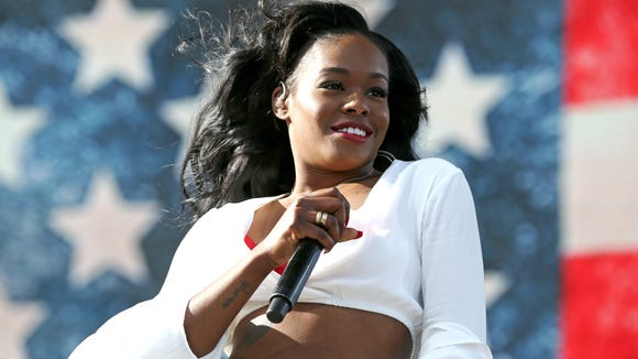Azealia Banks performs at the 2015 Coachella Valley Music and Arts Festival in Indio, Calif. She makes her film debut in RZA's 'Love Beats Rhymes' this week.