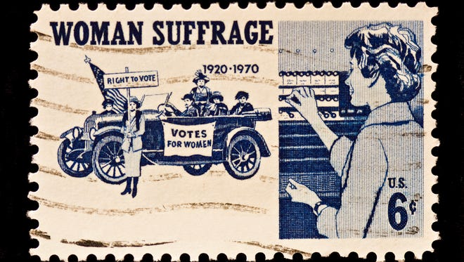 File: Women Suffrage Postal Stamp