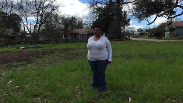Tina Shelvin Bingham of the McComb-Veazey Neighborhood