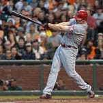 BAR: Jay Bruce shows he can hit away from GABP