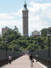 The High Bridge, one of the oldest bridges in New York