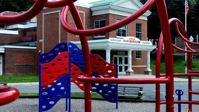 Although the playground equipment is still in place, the former Milton Elementary School, which closed in 2013, is the new home for the Town of Marlborough Court and Police Department in Ulster County.