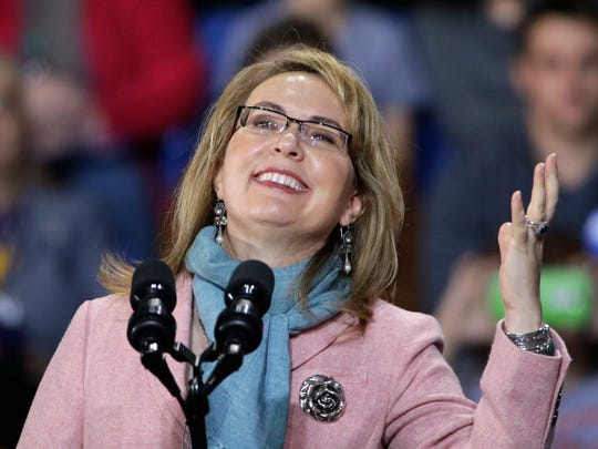 Former Congresswoman Gabby Giffords will be in El Paso this evening, Aug. 22.