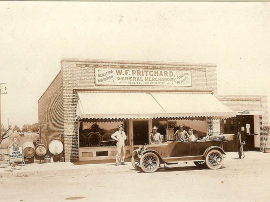 The Pritchard Store, in the newer brick building, is