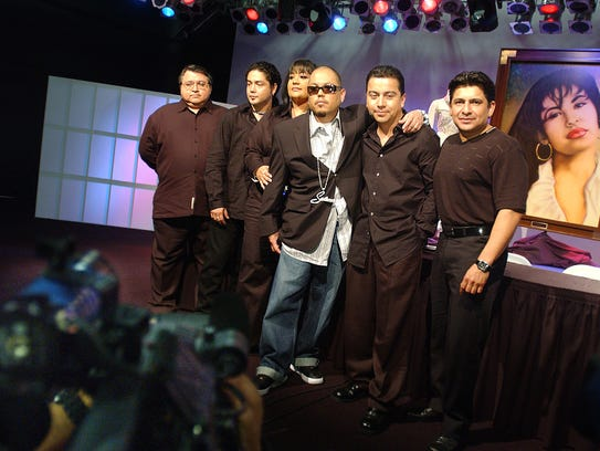 Ricky Vela (from left); Chris Perez; Suzette Q. Arriaga,