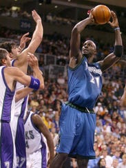 In February, 2015, Kevin Garnett finally returned to