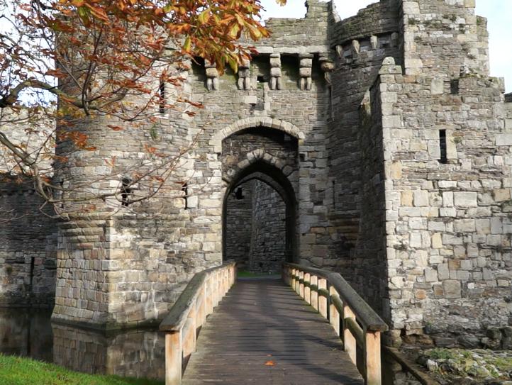 Beaumaris Castle, a UNESCO World Heritage Site, built