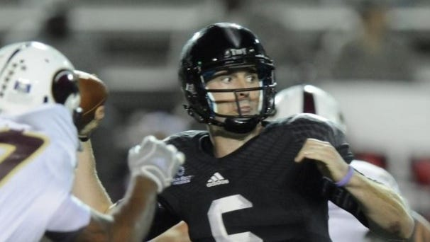Troy has to replace four-year starter Corey Robinson at quarterback this season.