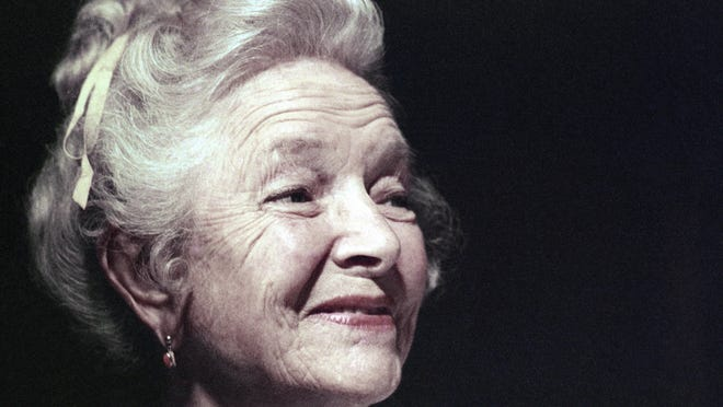 """Actress Helen Hayes lived in Nyack for 60 years, in a mansion she and her husband christened """"Pretty Penny"""" to note its price tag."""