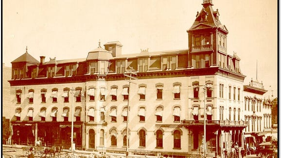 The Cataract Hotel, located at 9th and Phillips, was