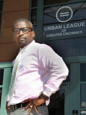 Torrance Jones stands outside the Urban League's office in Avondale.