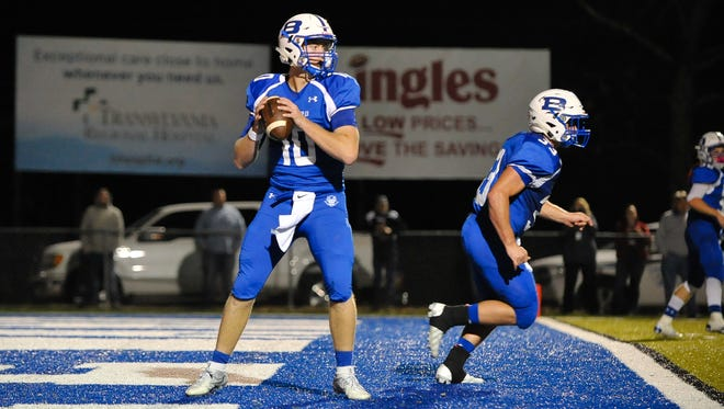 Brevard senior Tanner Ellenberger has accepted a preferred walk-on opportunity with the Appalachian State football program.