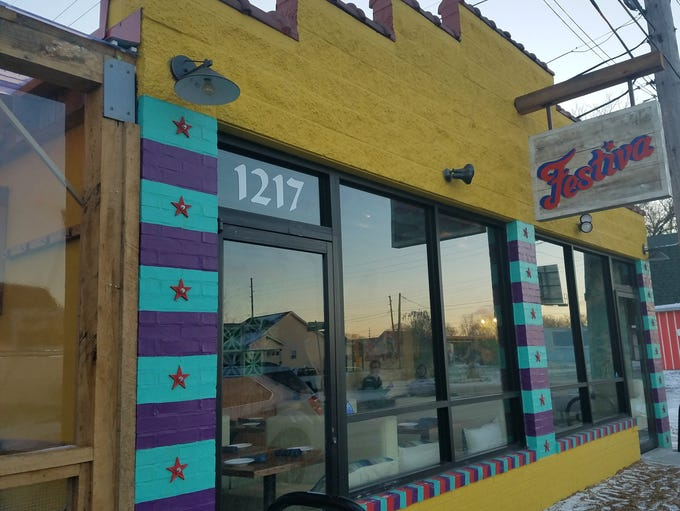The Mexican restaurant Festiva, from the owners of