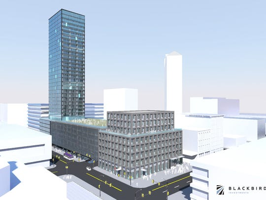Local developer Blackbird Investments has proposed