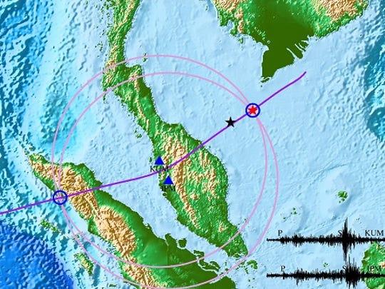Seismic event