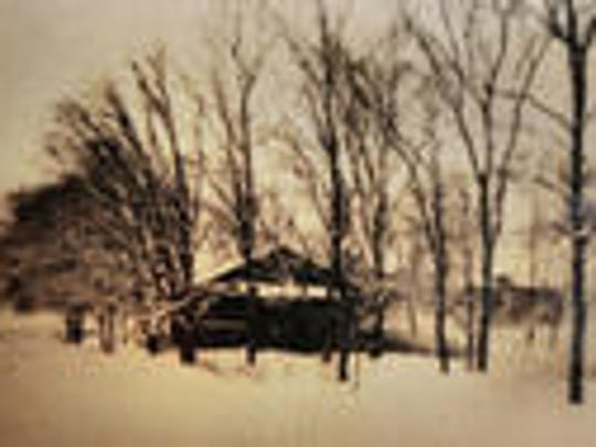 A very old photograph of what Tuckaway (and its surroundings)