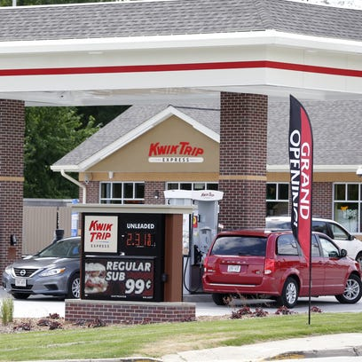 The recently-opened Kwik Trip Express store on Webster