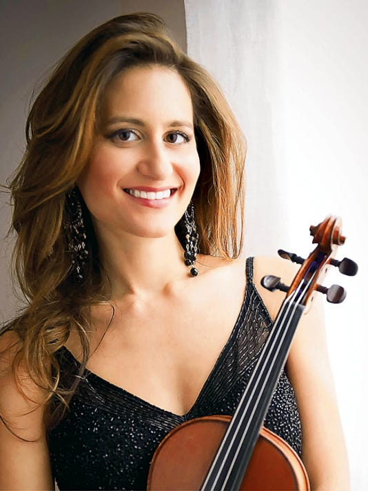 Courtesy Photo   Gabrielle Fink, acclaimed violinist, is set to perform at 7 p.m., Thursday in the Fine Arts Theater at Western New Mexico University in Silver City.