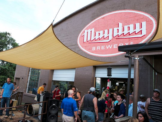 Hear live music at Mayday Brewery.