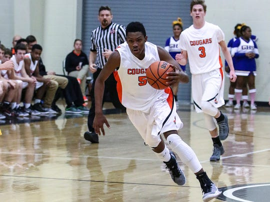 MTCS senior guard Kavan Hill is averaging more than 14 points a game.