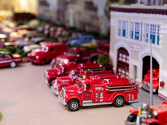 Gregory Burchell has more than 6,000 Hot Wheels cars in his collection.