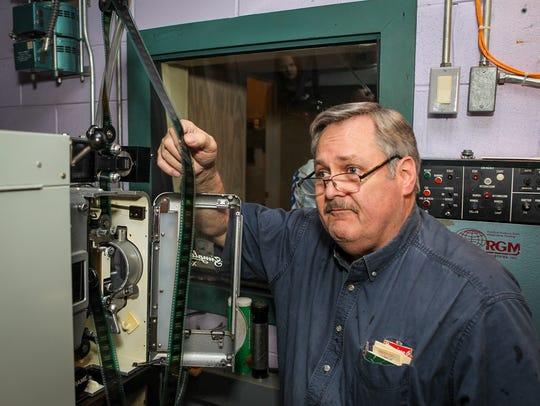 Bill Brooks, owner of Premier 6 in Murfreesboro, shows