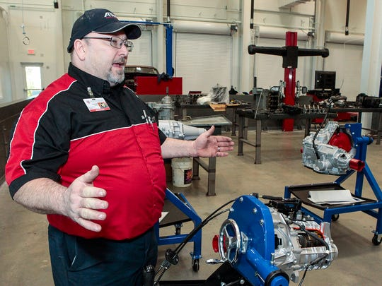 Charles Vaughn, lead instructor at Tennessee College of Applied Technology-Smyrna Campus, talks about the automotive program.