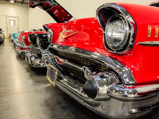Streetside Classic Cars in La Vergne boasts an inventory of nearly 200 cars valued at $2 million.