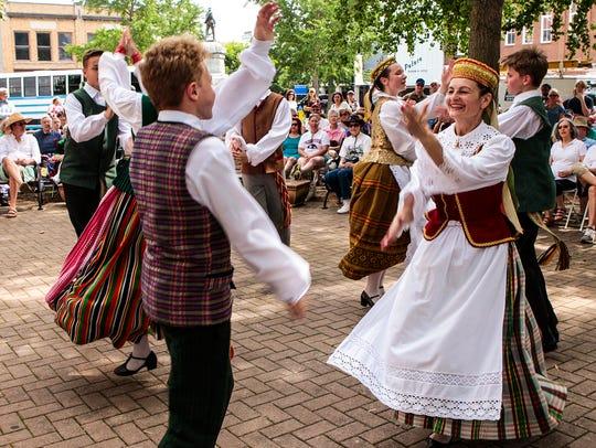 International Folkfest 2017 welcomed dancers from Canada,