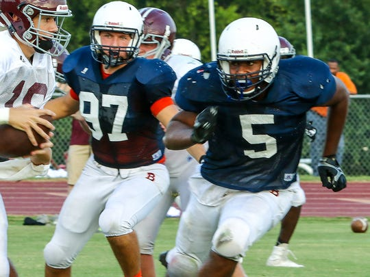 Blackman is coming off a 9-4 season in 2016.