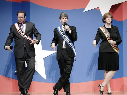 The Capitol Steps will perform Jan. 19 at Bergen Performing
