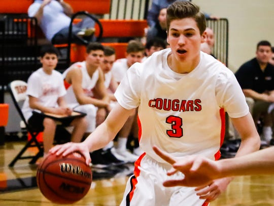 MTCS' Nate Howell scored 19 points in a 49-47 win over Providence Christian Thursday.