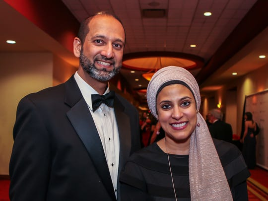 Fayaz and Ausia Malik were among those attending the 2018 Rutherford Heart Ball. This year's event is set for Saturday, Feb. 9.