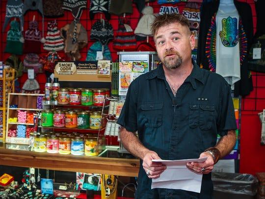 Luis Berbert, owner of Enchanted Planet on East Lytle