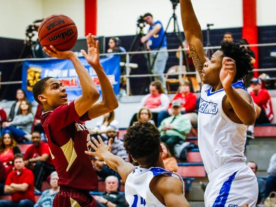 Region 4-AAA semifinals: Riverdale 47, La Vergne 31. Tuesday, Feb. 27, 2018.