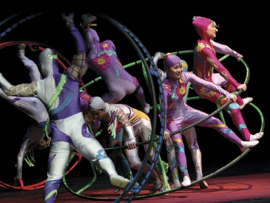 Golden Dragon Acrobats perform at Aronoff Center's