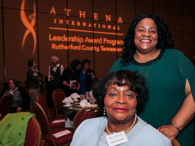 Patricia Watkins-Smith and Anetra Smith at Rutherford